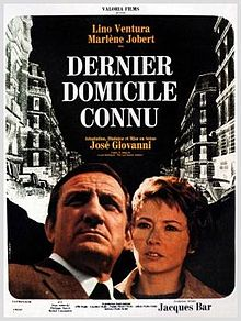 poster Dernier domicile connu (1970)