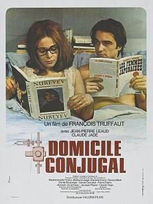 poster Domicile conjugal (1970)