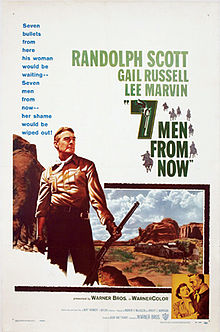 poster Seven Men from Now (1956)