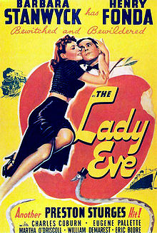 poster The Lady Eve (1941)