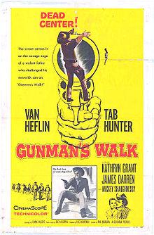 poster Gunman's Walk (1958)