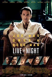 poster Live by Night (2016)