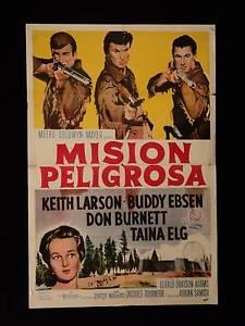 poster Mission of Danger (1960)