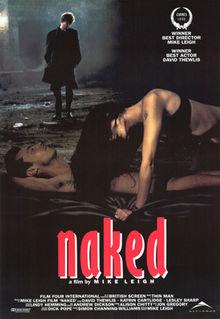 poster Naked (1993)