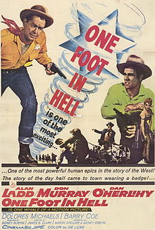 poster One Foot in Hell (1960)