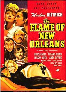 poster The Flame of New Orleans (1941)