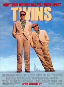 poster Twins (1988)