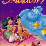 poster desene animate Aladin - Alladin - lampa lui aladin