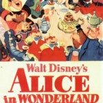 poster desene animate alice in tara minunilor - alice in wonderland