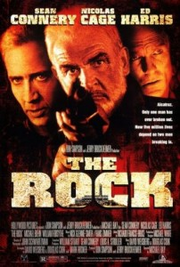 poster film The Rock - Fortareata 1996