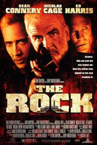 poster film The Rock - Fortareata 1996