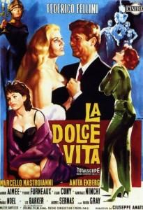 poster film la dolce vita - 1960 - Federico Fellini