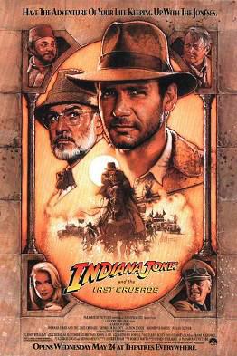 poster film Indiana Jones si ultima cruciada - Indiana Jones and the Last Crusade