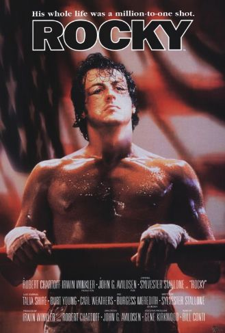 poster film Rocky - Rocky 1976