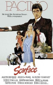 poster film Scarface - Scarface 1983