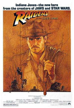 poster Film Indiana Jones si Cautatorii Arcei pierdute - Indiana Jones and the Lost Ark