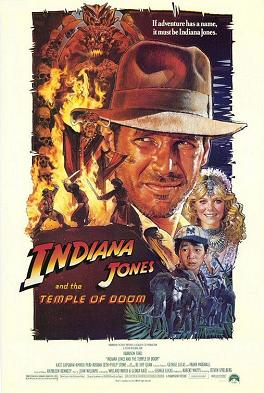 poster Film Indiana Jones si Templul bestemat - Indiana Jones And The Temple Of Doom