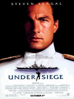 poster Film Sechestrati in larg - Under Siege 1992