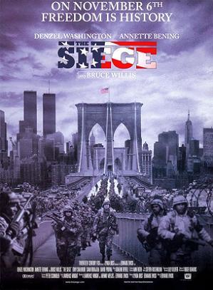poster Film Stare de asediu 1998 - The Siege
