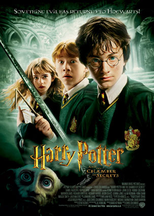 poster film Harry Potter and the Chamber of Secrets 2002 - Harry Potter si Camera secretelor - film online