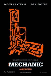 poster film The Mechanic 2011 - mecanicul - film online