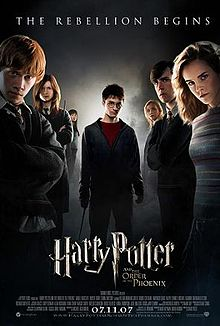 poster film Harry Potter and the Order of the Phoenix - Harry Potter si Ordinul Phoenix - film online