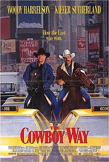 poster Film - Doi văcari prin New York (1994) - The Cowboy Way