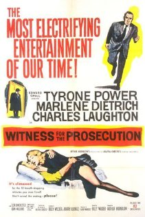 poster Film - Martorul acuzării (1957) - Witness for the Prosecution
