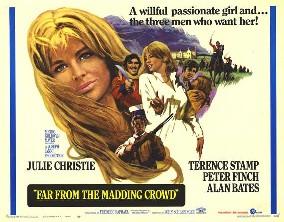 poster Film - Departe de lumea dezlănţuită - Far From The Madding Crowd (1967)