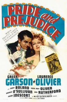 poster Film - Mandrie si prejudecata - Pride and Prejudice (1940)
