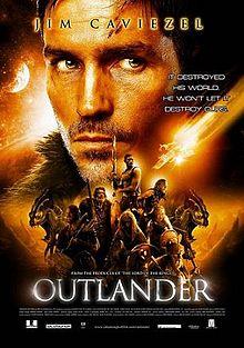 poster Film - Outlander (2008) - Călătorie în lumea vikingilor