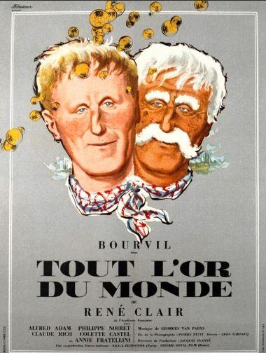 poster Film - Pentru tot aurul din lume (1961) - Tout l'or du monde