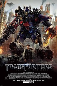 poster Film - Transformers 3 Dark Of The Moon (2011)
