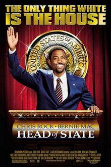 poster Film - Un negru pentru Casa Alba (2003) - Head of State