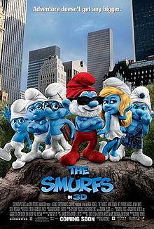 poster Film - Ştrumpfii - The Smurfs (2011)