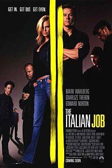 poster Film - Jaf in stil italian - The Italian Job (2003)