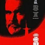 poster Film Vânătoarea lui Octombrie Roşu (1990) - The Hunt for Red October