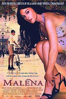 poster Film - Malena (2000)