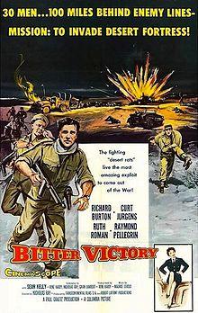 poster Film - Bitter Victory - Victorie amara (1957)