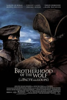 poster Film - Brotherhood of the Wolf - Fratia Lupilor (2001)