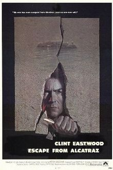 poster Film - Escape from Alcatraz - Evadare din Alcatraz (1979)