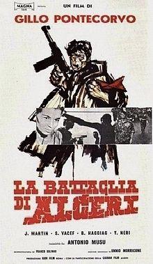 poster Film - The Battle Of Algiers - La Battaglia di Algeri - Batalia pentru Alger (1966)
