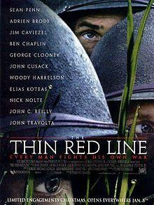 poster Film - The Thin Red Line - La hotarul dintre viata si moarte (1998)