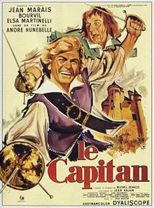 poster Film - Captain Blood - Le capitan - Capitanul (1960)