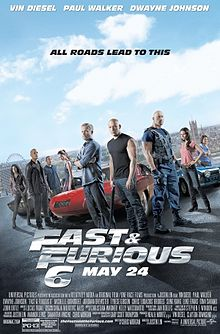 poster Film - Furios si iute 6 - The Fast and the Furious 6 (2013) - Fast & Furious 6