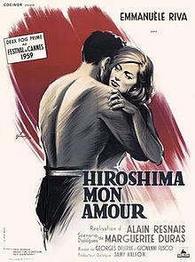 poster Film - Hiroshima mon amour - Hiroshima dragostea mea (1959)