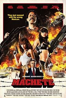 poster Film - Machete - Macete (2010)