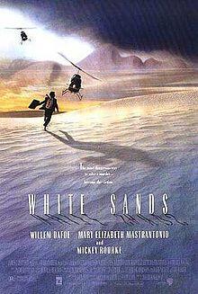 poster Film - White Sands - Nisipuri albe (1992)