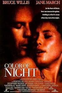 poster Film - Culoarea noptii - Color of Night (1994)