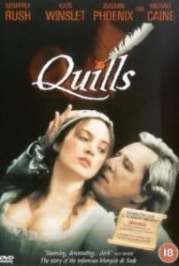 poster Film - Marchizul de Sade - Quills (2000)